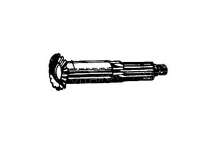Вал шкива приводного ВОМ МТЗ - 40-4211071 - фото 1