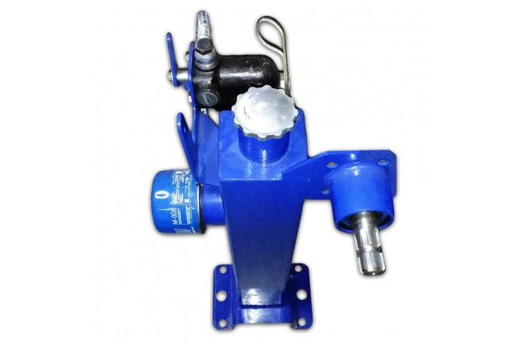 Гидробак с приводом насос-дозатора на трактор МТЗ вместо ГУР, с краном блокировки - ГБ МТЗ - фото 1