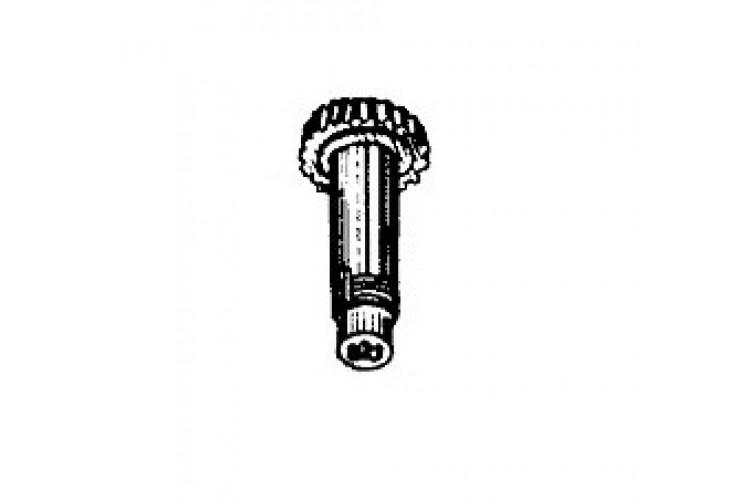 Вал шкива приводного ВОМ МТЗ с гнездом на 8 шлицов - 40-4211045 - фото 1