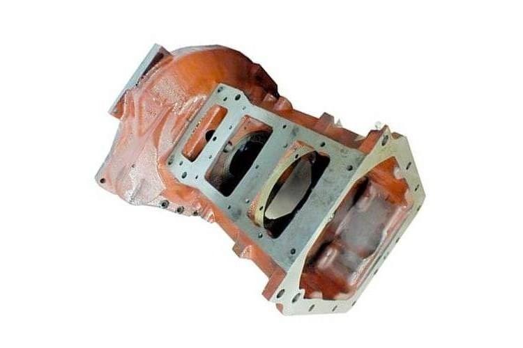 Корпус муфты сцепления под стартер на трактор МТЗ б/у - 70-1601015-04 - фото 1