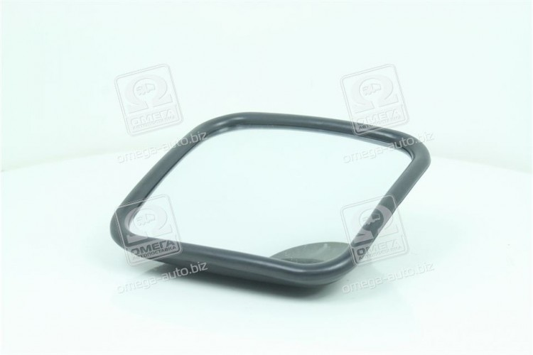 Зеркало боковое ГАЗ 180х180 сферич.(с подогревом) <ДК> - DK-8208 - фото 1