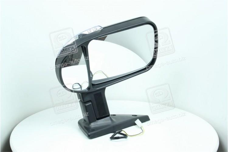 Зеркало боковое ГАЗ 3302 нового оброзца с поворотом черное,матовое <ДК> - 46.8201021-40 - фото 1