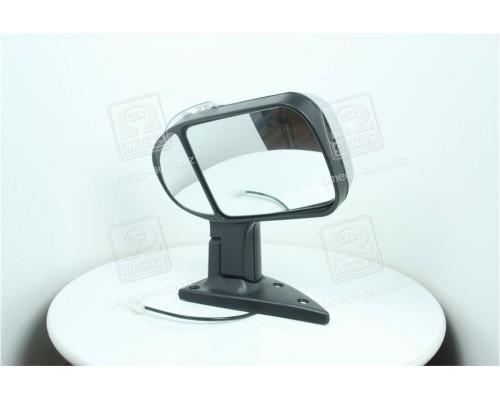 Зеркало боковое ГАЗ 3302 нового оброзца с поворотом серебристое <ДК>