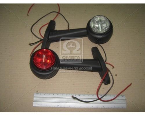 Фонарь LED габаритный ,рожок прямой,24В (Руслан-Комплект)