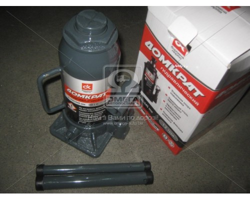 Домкрат 12т гидравлический серый H 235/445 <ДК>