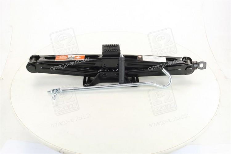 Домкрат механический 2т 100/442мм с резинкой <ДК> - DK52-112 - фото 1