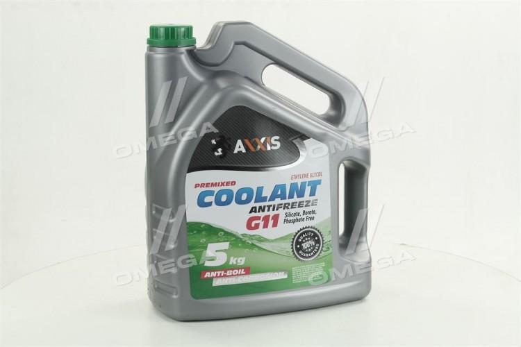 Антифриз GREEN G11 Сoolant Зеленый (Канистра 5кг) - 48021029825 - фото 1