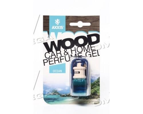 """Ароматизатор AXXIS """"Wood"""" Ocean 7ml (уп.60 шт/ ящ.240шт)"""