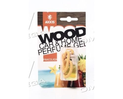 """Ароматизатор AXXIS """"Wood"""" Pinacolada 7ml (уп.60 шт/ ящ.240шт)"""