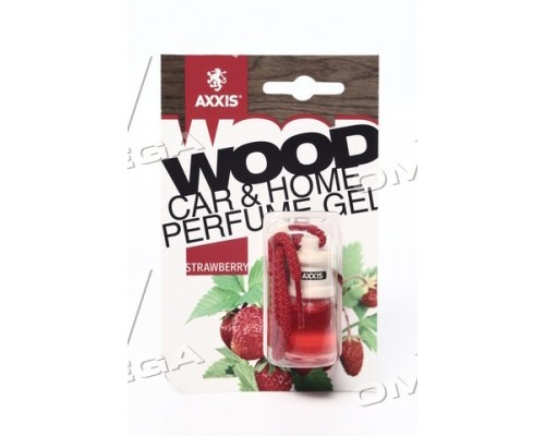 "Ароматизатор AXXIS ""Wood"" Strawberry 7ml (уп.60 шт/ ящ.240шт)"