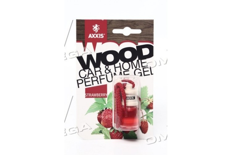 "Ароматизатор AXXIS ""Wood"" Strawberry 7ml (уп.60 шт/ ящ.240шт) - 63610 - фото 1"