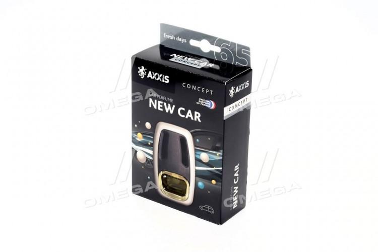 """Ароматизатор AXXIS на дифлектор """"Concept"""" New Car 8ml (уп.24шт/ ящ.96шт) - 63585 - фото 1"""