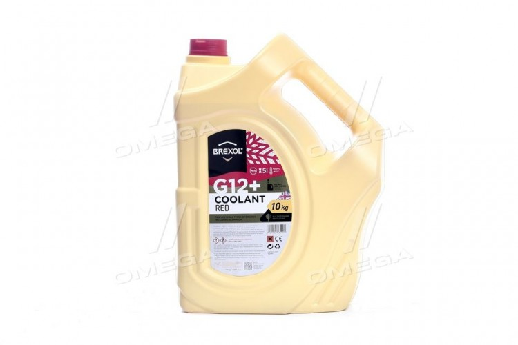 Антифриз BREXOL RED G12+ Antifreeze (красный) 10kg - antf-013 - фото 1
