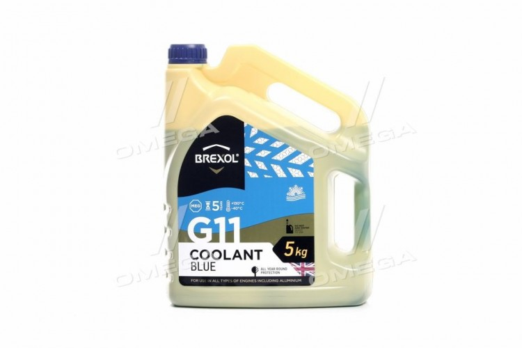 Антифриз BREXOL BLUE G11 Antifreeze (cиний) 5kg - antf-021 - фото 1