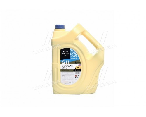 Антифриз BREXOL BLUE G11 Antifreeze (cиний) 10kg
