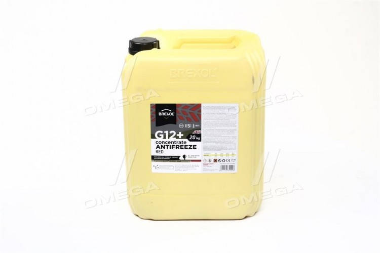 Антифриз RED CONCENTRATE G12+ (-80C) 20kg - antf-028 - фото 1