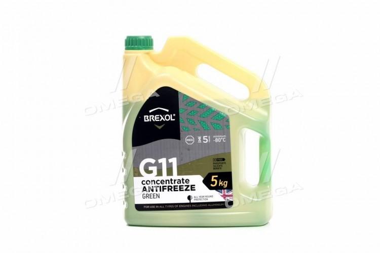 Антифриз GREEN CONCENTRATE G11 (-80C) 5kg - antf-030 - фото 1