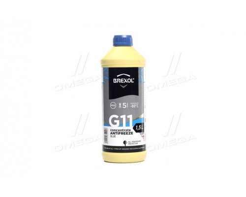 Антифриз BLUE CONCENTRATE G11 (-80C) 1,5L