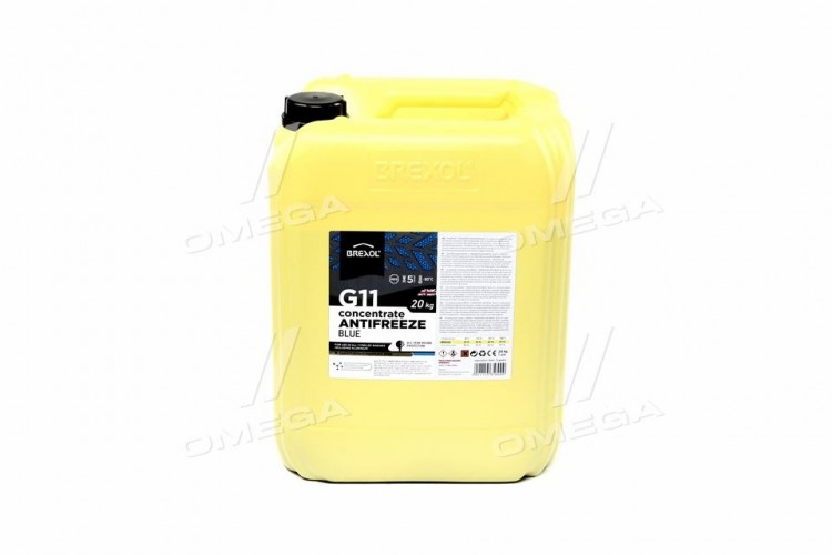 Антифриз BLUE CONCENTRATE G11 (-80C) 20kg - antf-034 - фото 1