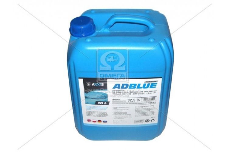Жидкость AdBlue для снижения выбросов систем SCR (мочевина) 10 л - 502095 AUS 32 - фото 1