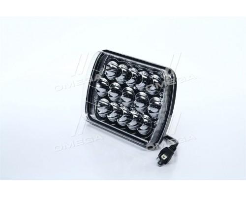 Фара LED дополнительная 12/24V, 15*3W, 178*140*70mm (truck)