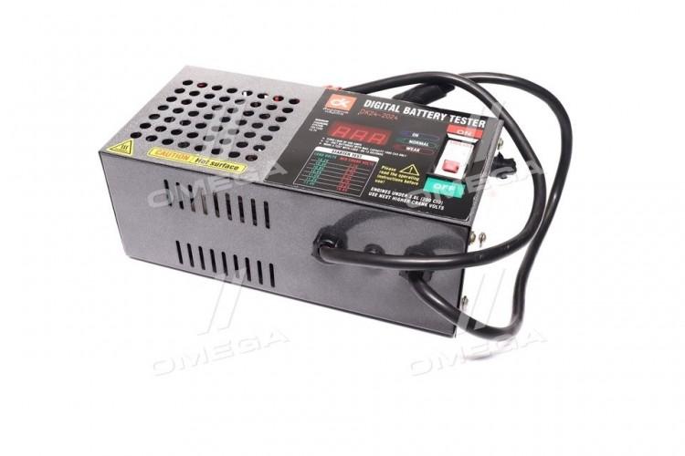 Тестер аккумуляторных.Батарей 200Amp,цифровой (нагрузочная вилка) <ДК> - DK24-2024 - фото 1
