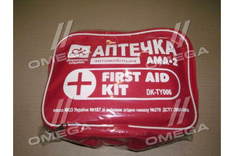 Аптечка АМА-2 мягкая (сертифицированная) <ДК> - DK- TY006 - фото 1