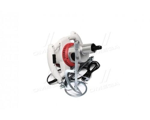 Миксер ручной электрический 1200 Вт,2 скорости,max 40Nm,насадка 120мм(про-во INTERTOOL)