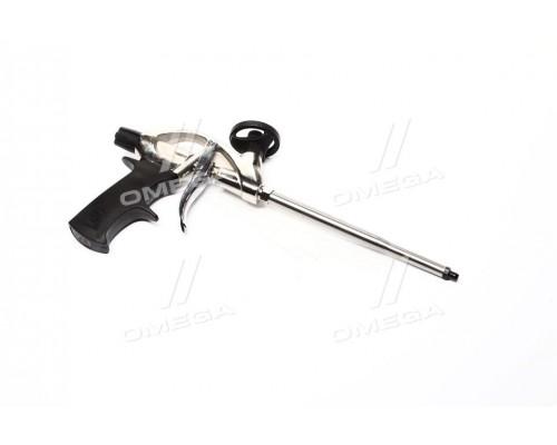 Пистолет для пены с тефлоновым покрытием держателя баллона + 4 нас.(про-во INTERTOOL)
