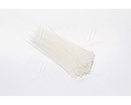 Хомут пластиковый 2,5x150мм,Белый (про-во INTERTOOL)