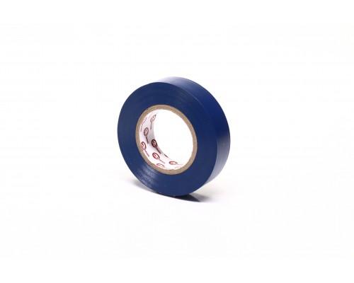 Лента изоляционная 0.15мм*17мм*20м синяя(про-во INTERTOOL)