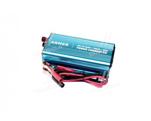 Преобразователь напряжения 12V-220V/550W/USB/мод.волна <ARMER>
