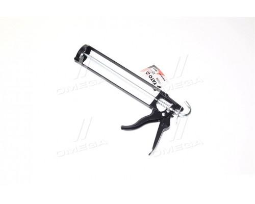 Пистолет скелетная нанесение герметиков,L = 225 мм (про-во YATO)