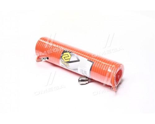 Шланг пневматический спиральный 5 х 8 мм 10м (про-во VOREL)