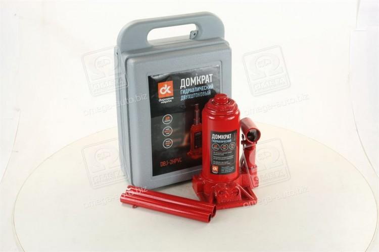 Домкрат бутылочный Красный пластмассовый  <ДК> - JNS-02PVC - фото 1