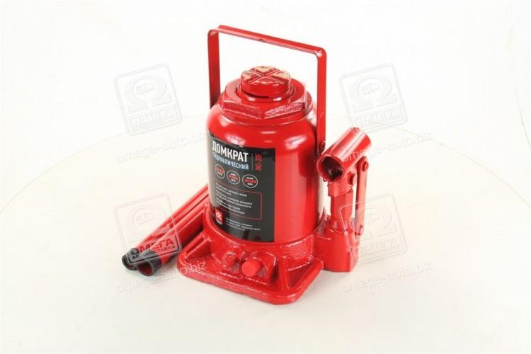 Домкрат бутылочный,20т низкий,красный H=190/350  <ДК> - JNS-20F - фото 1