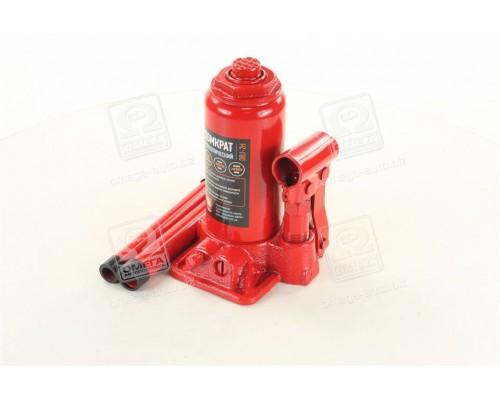 Домкрат бутылочный двухштоковый,Красный 2т,H=165/410 ( ДК )