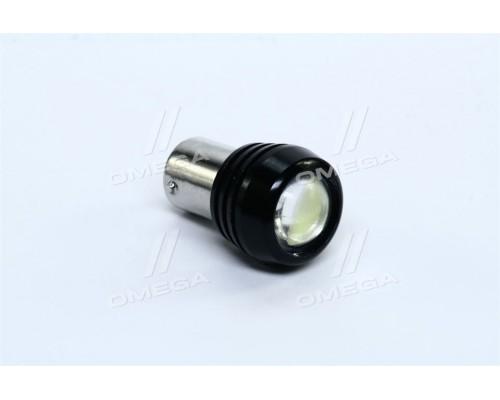 Лампа LED задний ход (линза) 1SMD BA15s 12V WHITE