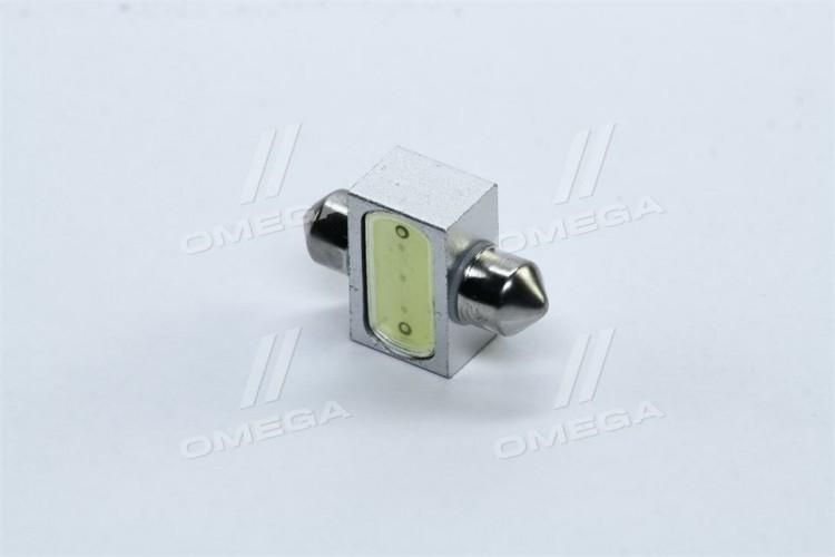 Лампа LED софитная C5W 12V T11x31-S8.5 1SMDx3chips Mega-LED WHITE <TEMPEST> - tmp-16T11-12V - фото 1