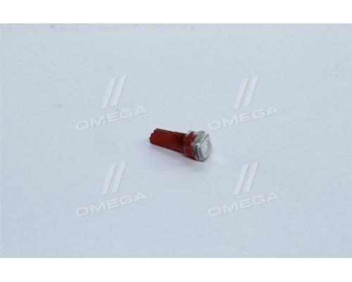 Лампа LED  б/ц панель приборов, подсветки кнопок  Т5-02 (1SMD) W2,0 х4,6d красная 12V <TEMPEST>