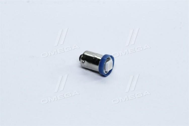 Лампа LED габарит,подсветка панели приборов T8-03 (1LED) BA9S конус синий 12V <TEMPEST> - tmp-40T8-12V - фото 1