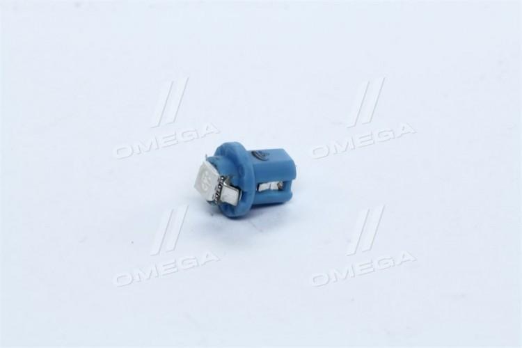 Лампа LED панели приборов,подсветкa кнопок T5B8,5d-02 (1SMD) W1.2W B8.5d голубая 24V <TEMPEST> - tmp-22T5-24V - фото 1