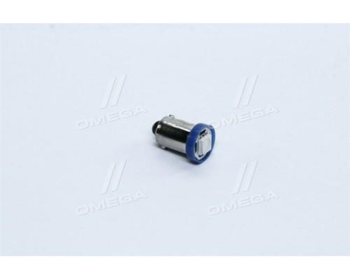 Лампа LED габарит,подсветка панели приборов T8-03 (1LED) BA9S  синий 24 Volt  <TEMPEST>
