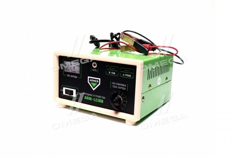 Зарядное устройство 10Amp 6/12V ручная регулировка <ARMER> - ARM-LC10B - фото 1