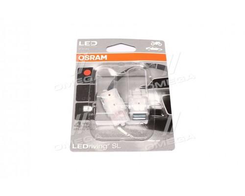 Лампа светодиодная RED W21/5W 6000K 12V 1,7W W3X16Q LEDriving Standard (blister 2шт)