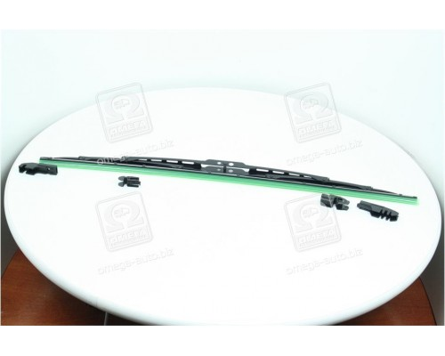 Щетка стеклоочист каркас 530мм (с адаптерами) <ДК>