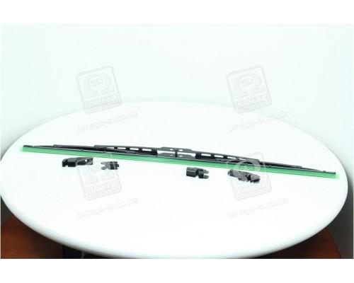 Щетка стеклоочист каркас 560мм (с адаптерами) <ДК>