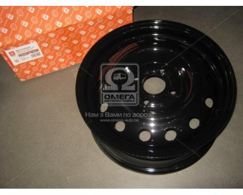 Диск колесный 14х5,5 4x100 Et 49 DIA 56,56 DAEWOO Lanos черный (в упаковке.) <ДК>