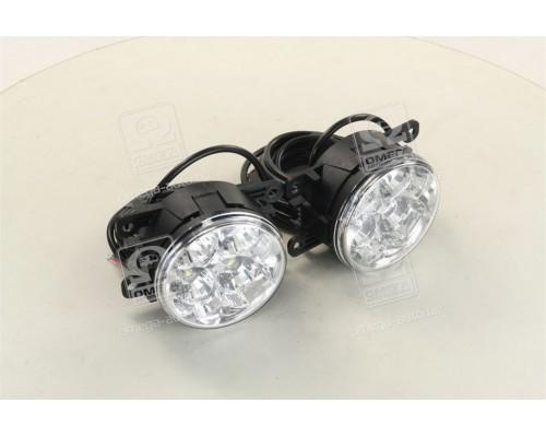 Фары DRL LED кпл.левая +правая 12/24V 2*3W