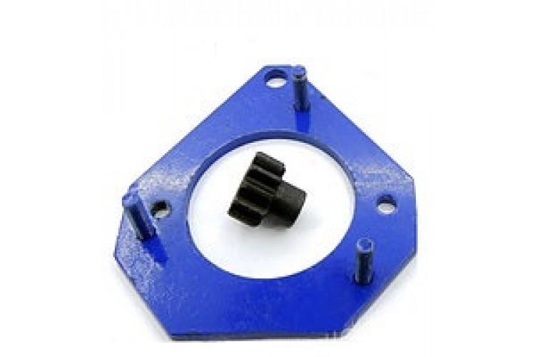 Переходная плита на МТЗ под стартер 2,8 кВт не меняя маховик под ПД - ПП-МТЗ - фото 1